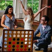 lawn & garden games hire wedding party cornwall