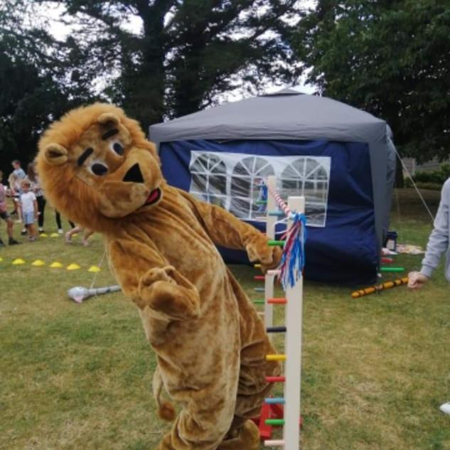 Limbo garden games hire wedding fete fayre fund rasier idea Devon Cornwall