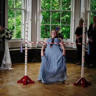Limbo hire wedding party garden games party hire
