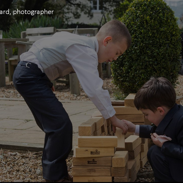 Giant Jenga hire kids party ideas Cornwall garden wedding barbeque