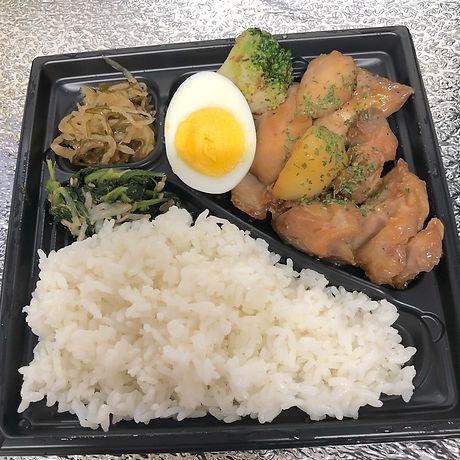 鶏とジャガイモの甘辛煮