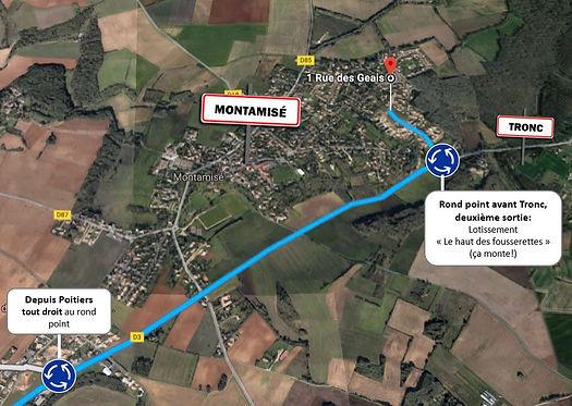 Psychologue Poitiers accès Montamisé