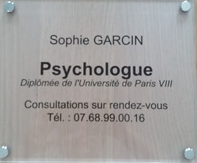 Sophie Garcin - Psychologue à Poitiers
