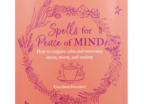 Spells for Peace Of Mind Book