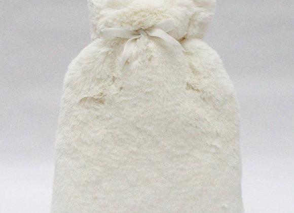 Teddy Hot Water Bottle- Off White