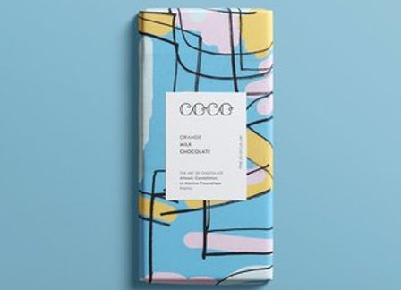 COCO Orange Chocolate Bar 80G
