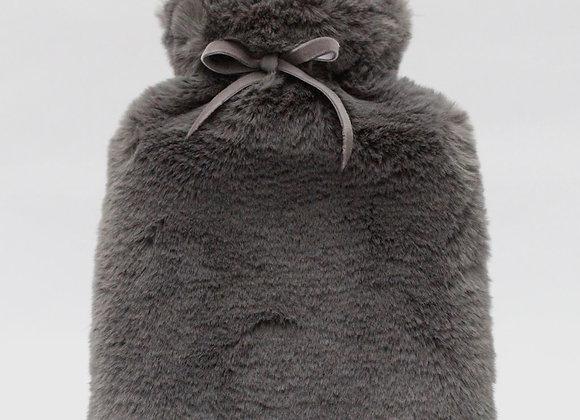 Teddy Hot Water Bottle- Charcoal