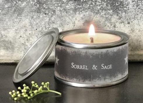 Star Candle- Sorrel & Sage