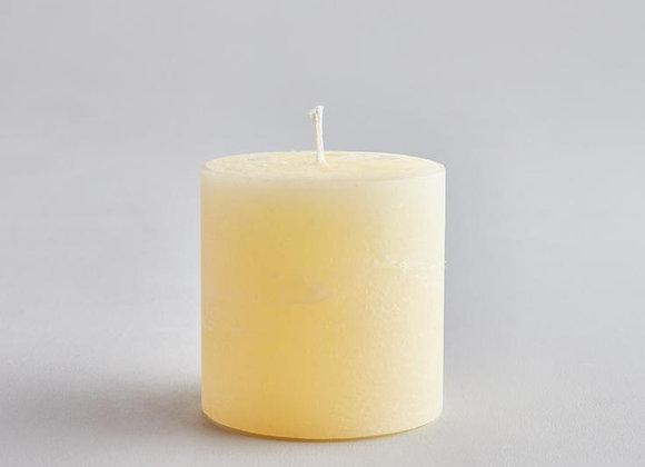 Sea Salt Coastal Pillar Candle