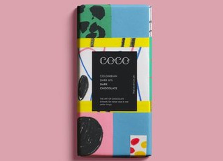 COCO Colombian Dark 61% Chocolate Bar 20G