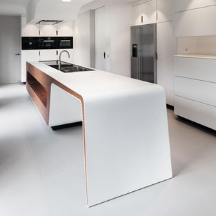 Solid Surface & Laminate Kitchen