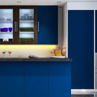 Ink Blue Kitchen