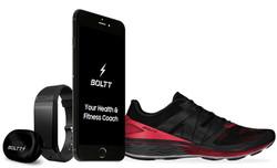 Boltt-Wearables sensor, shoe, mobile