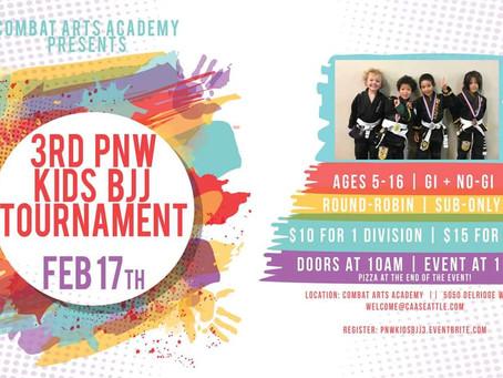 Kids tournament on Saturday 2/17.
