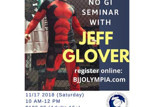 Jeff Glover No GI Seminar @ BJJOLYMPIA