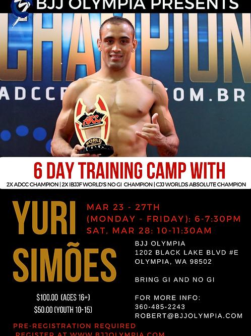 Yuri Simões training camp (ages 16+)
