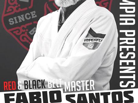 Master Fabio Santos at BJJ Olympia