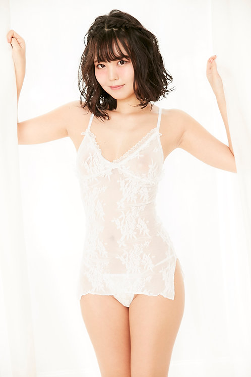 Floral Lace Cami [white] フローラルレースキャミ [白]