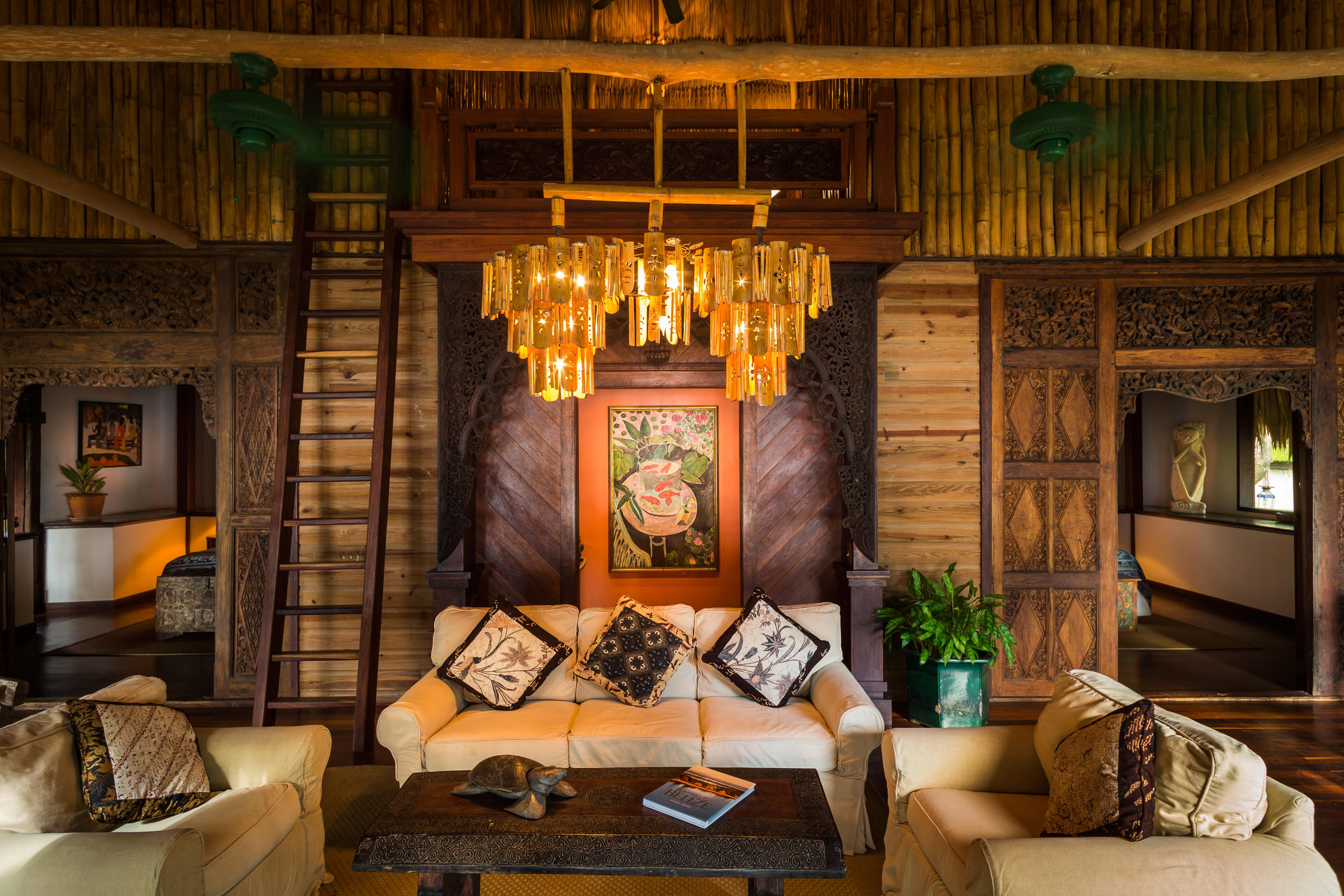 Family Pavilion interior