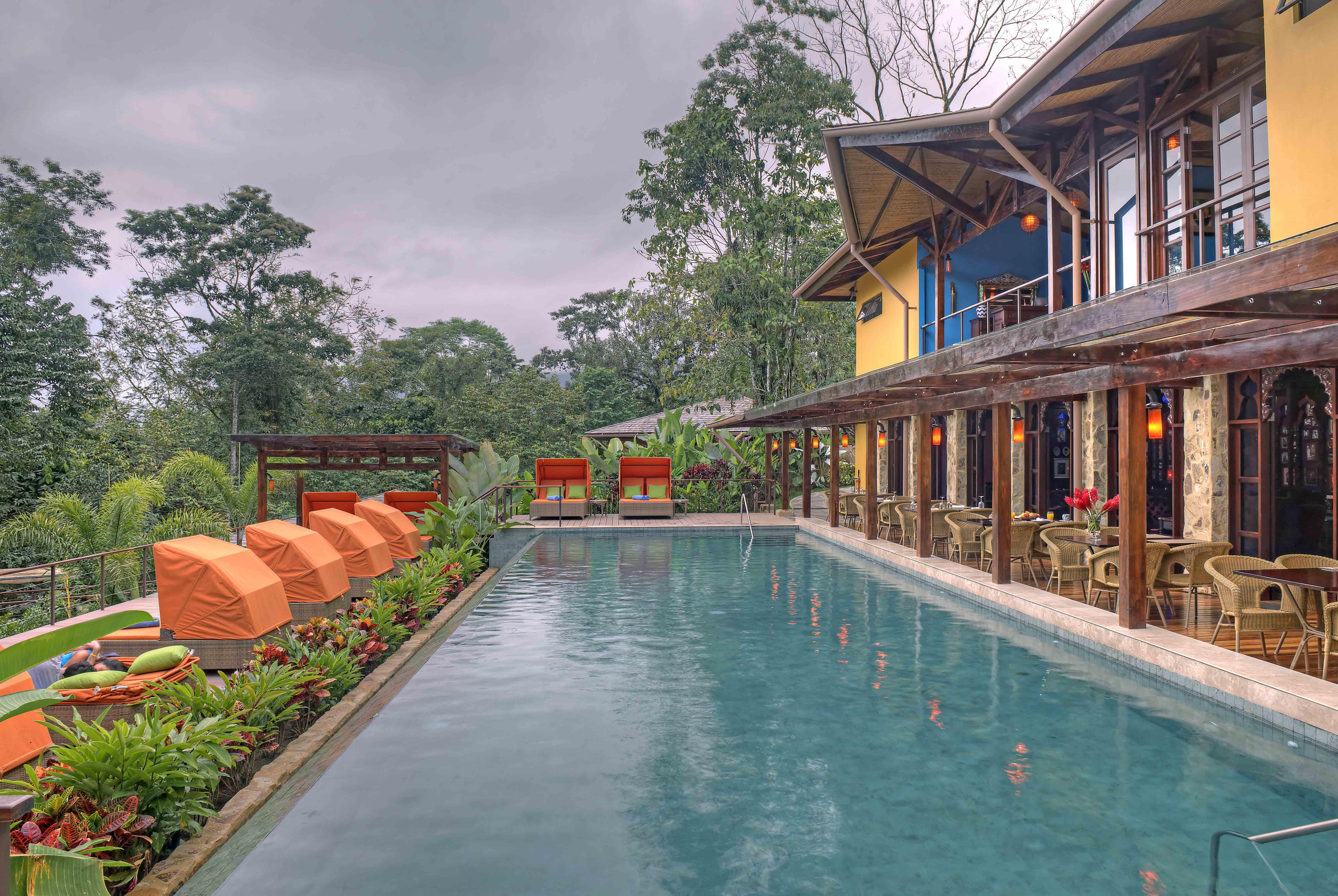 Nayara Springs Lap pool 3