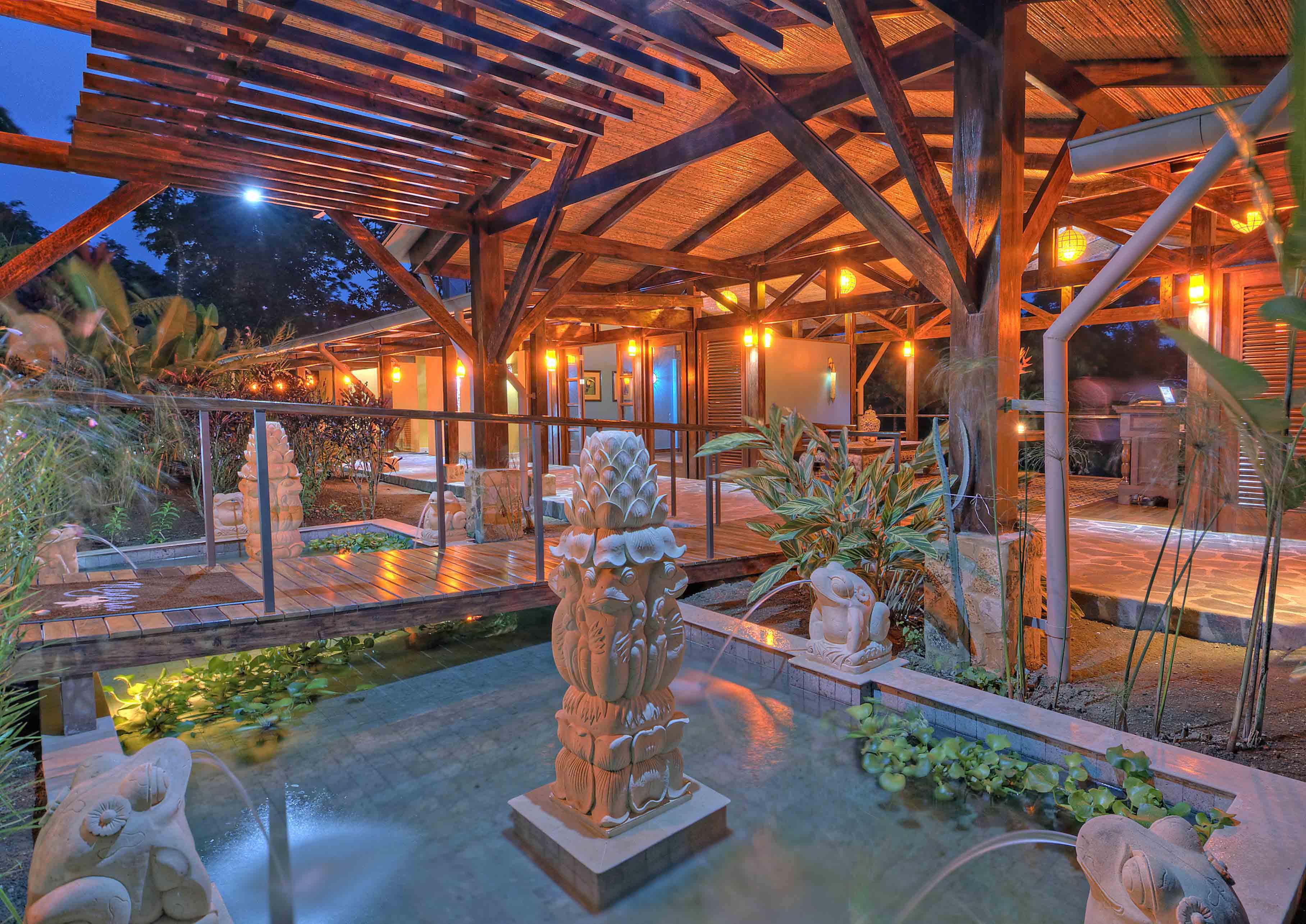 Spa Reception Fountain
