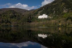 Monticchio Vulcan Lakes