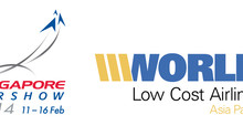 WE'LL BE AT THE SINGAPORE AIRSHOW & WORLD LOW COST AIRLINES ASIA PACIFIC