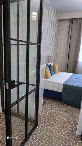Распашные металлические двери