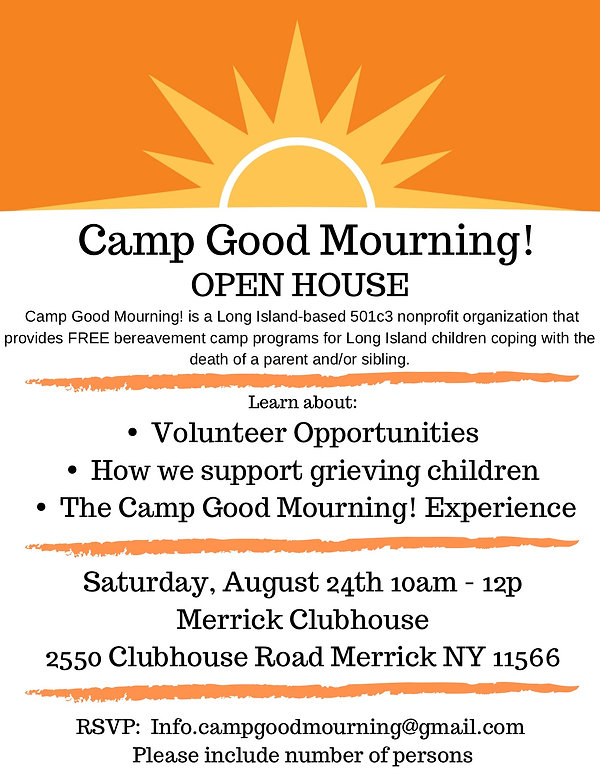 Camp Good Mourning! Open House 8_24_19.j