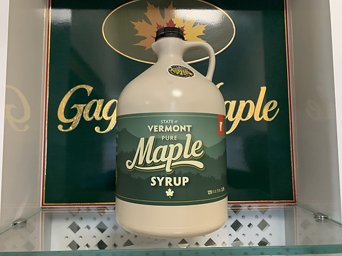 Gallon of Organic Maple Syrup