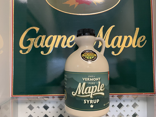 Quart of Organic Maple Syrup