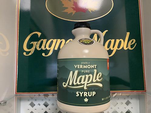 Half Gallon of Organic Maple Syrup