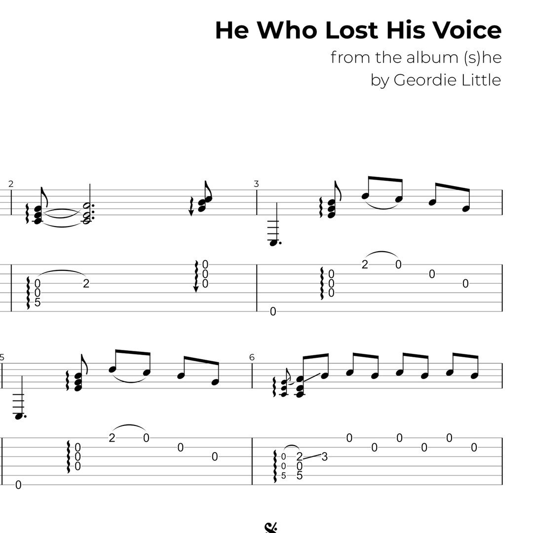 He Who Lost His Voice