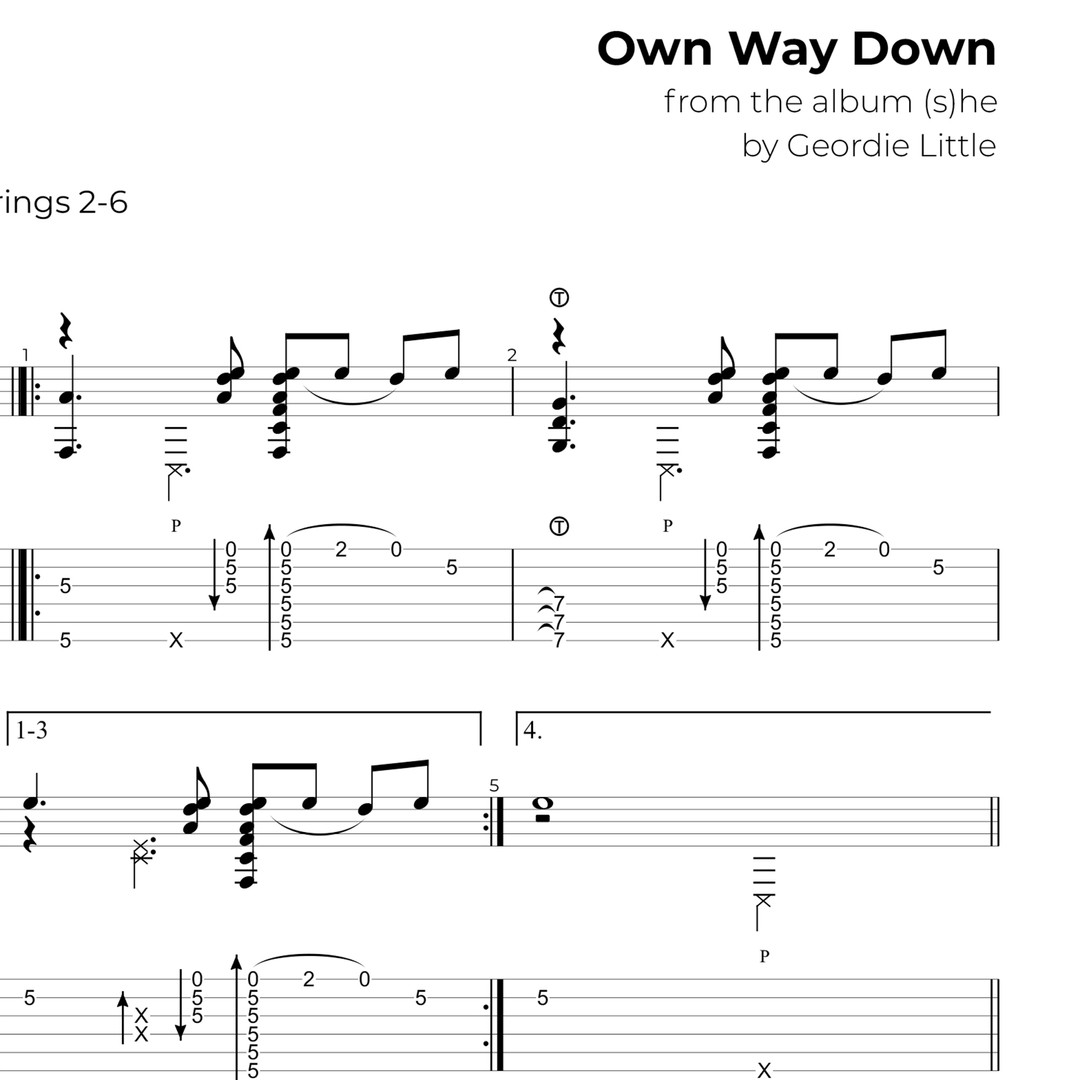 Own Way Down