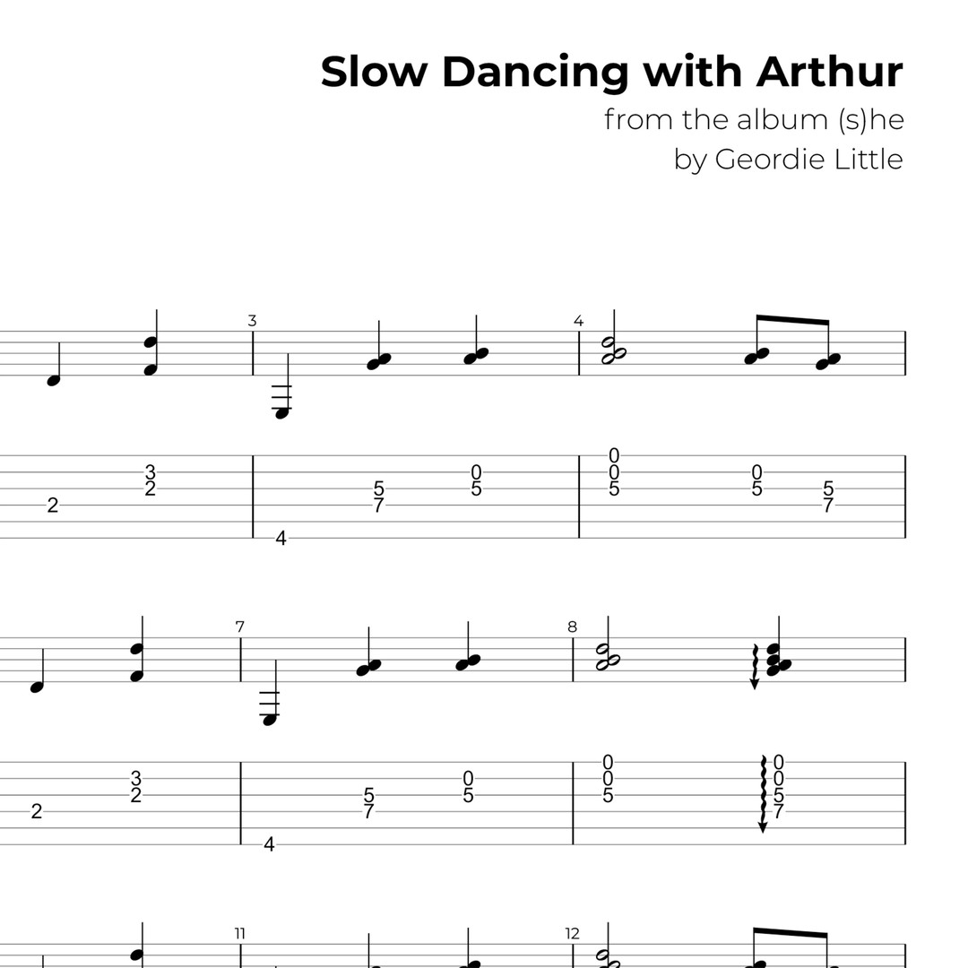 Slow Dancing with Arthur