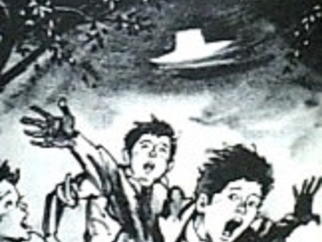 UFO Incident in Kera, Japan is Reopened After Being Retold in a Comic Strip