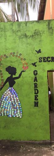 Claverito School Secret Garden