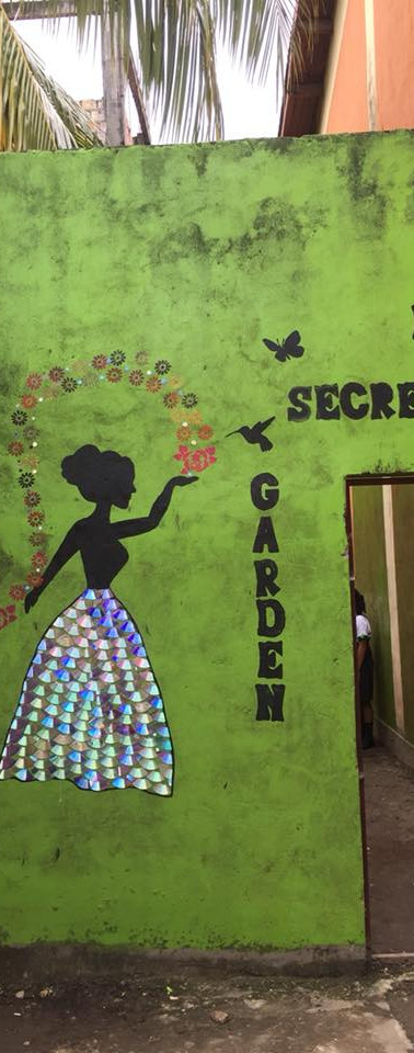 Claverito School Secret Garden