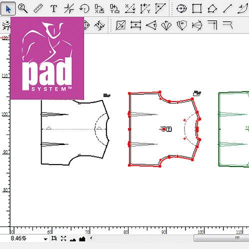 Software de patronaje PAD System V 6.0