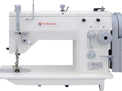 Zig-Zag 1 aguja trabajo mediano Singer 20U109