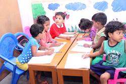 Kids at Slum School.