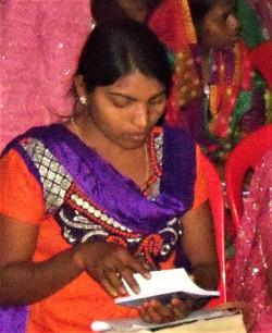 Scripture in Sambalpuri language.