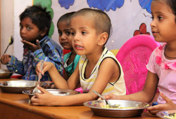 GNC provides meals to kids.