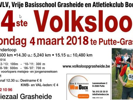 Volksloop Grasheide 2018