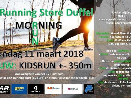 5e MORNING RUN Running Store Duffel