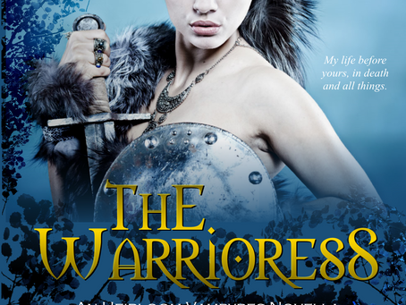 'The Warrioress' Cover Reveal!