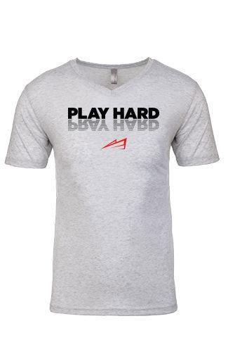 RRS Play Hard/Pray Hard V-Neck