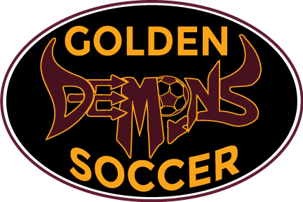 Demons Soccer Sticker