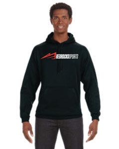 RRC Sports Hooded Sweat Shirt Black