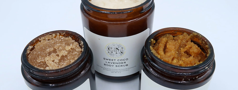 Raw Skin Scrub Bundle